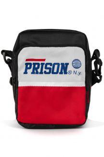 Shoulder Bag Prison Red and White