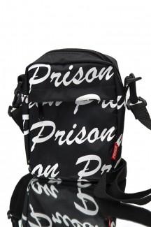 Shoulder Bag Prison Street logo preta