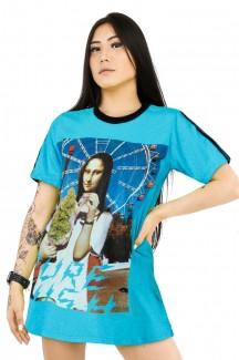 Vestido feminino Prison Blue Monalisa