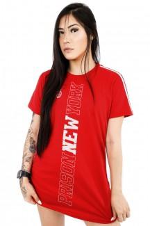 Vestido feminino Prison New York Vermelho