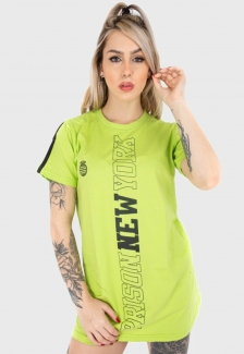 Vestido Prison Feminino Green Neon