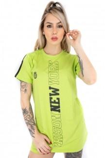 Vestido Streetwear Prison Feminino Green Neon
