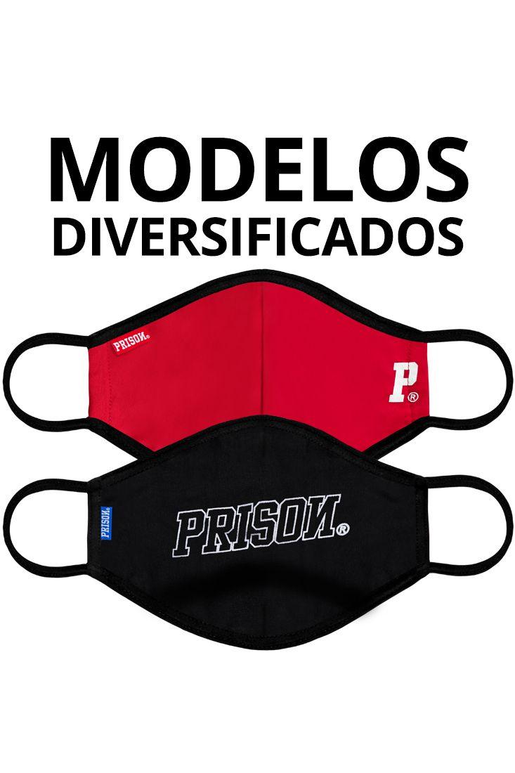 2 Máscaras Prison® Streetwear - Brinde