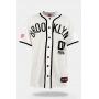 Camisa de Baseball Prison Brooklyn 00 Off White