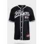 Camisa de Baseball Prison NYC Black