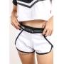 Shorts Feminino Streetwear Comfort Way Branco
