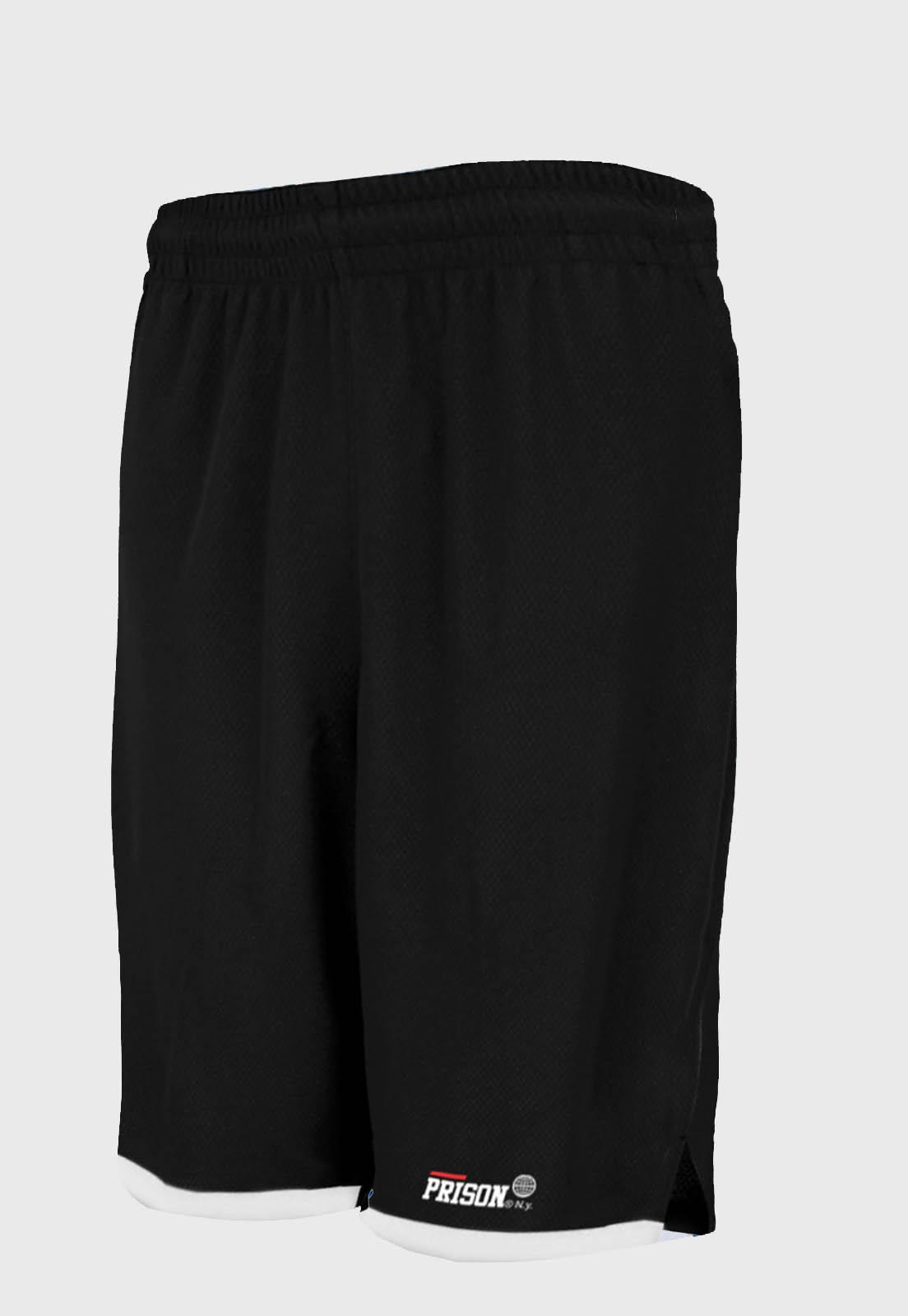 Bermuda Esportiva Prison Streetwear Black