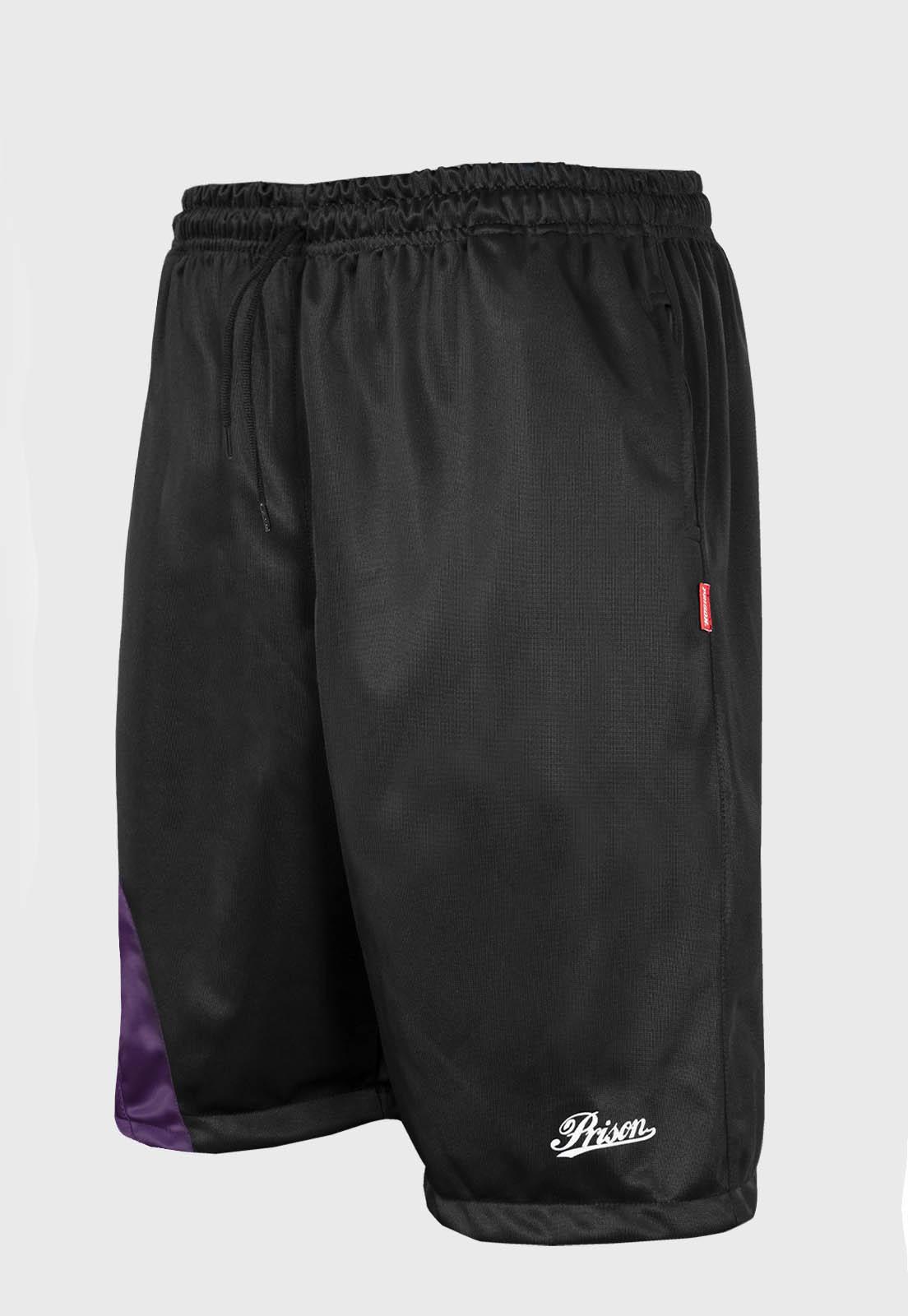 Bermuda Prison Streetwear Purple-Waves
