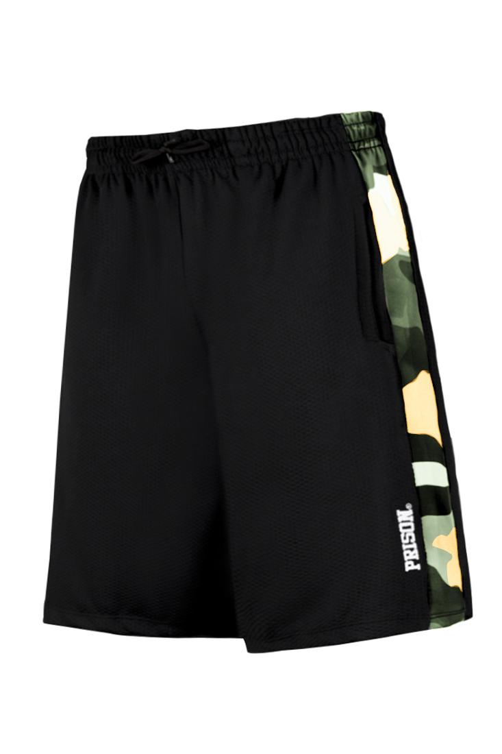 Bermuda / Shorts Prison Streetwear Camuflagem Lateral