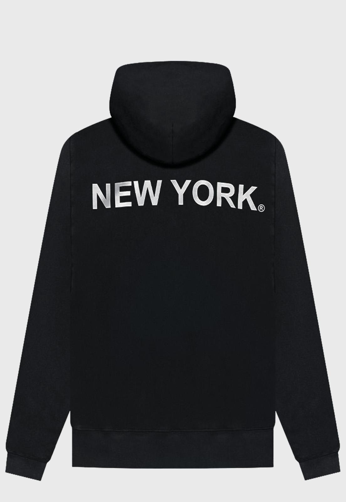 Blusa Moletom Black Prison New York