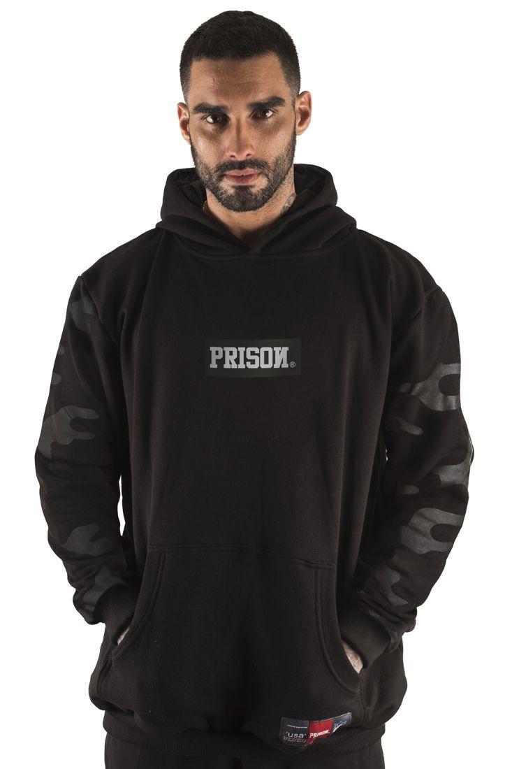 Blusa Moletom Prison Camuflada Discret