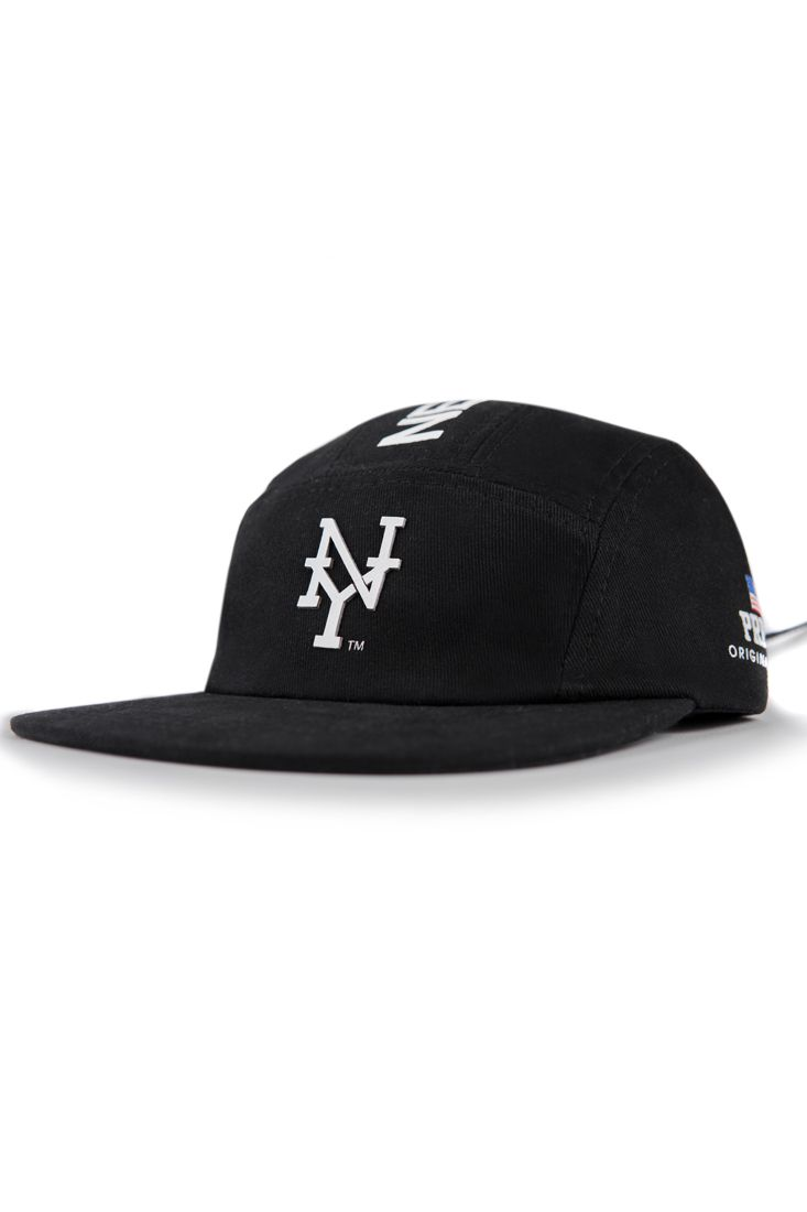 Boné Five Panel Prison New York Preto