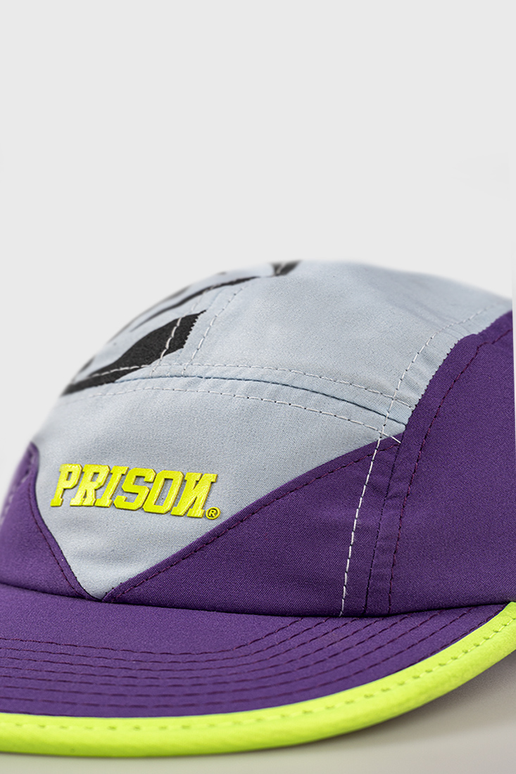 Boné Five Panel purple and ice