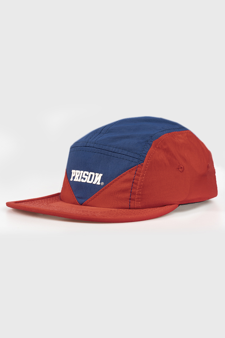 Boné Five Panel Red and Blue