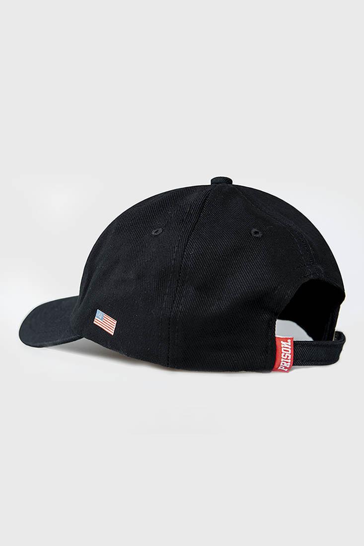 Boné Strapback Dad Hat Aba Curva Prison Preto