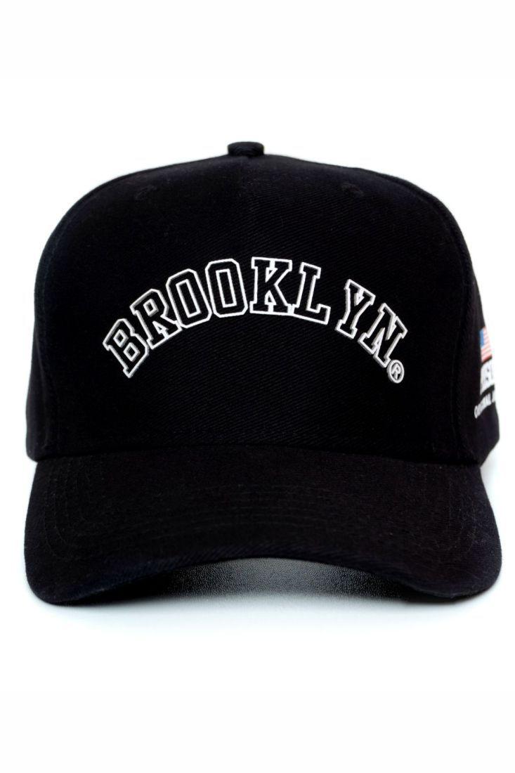 Boné Strapback Prison Brooklyn Preto
