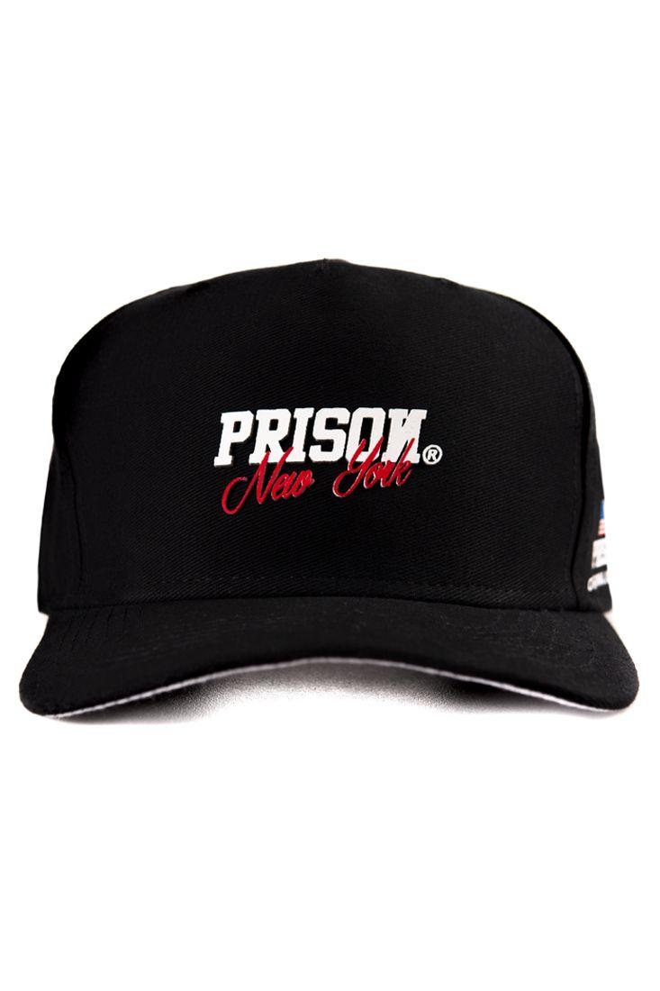 Boné Strapback Prison New York Preto