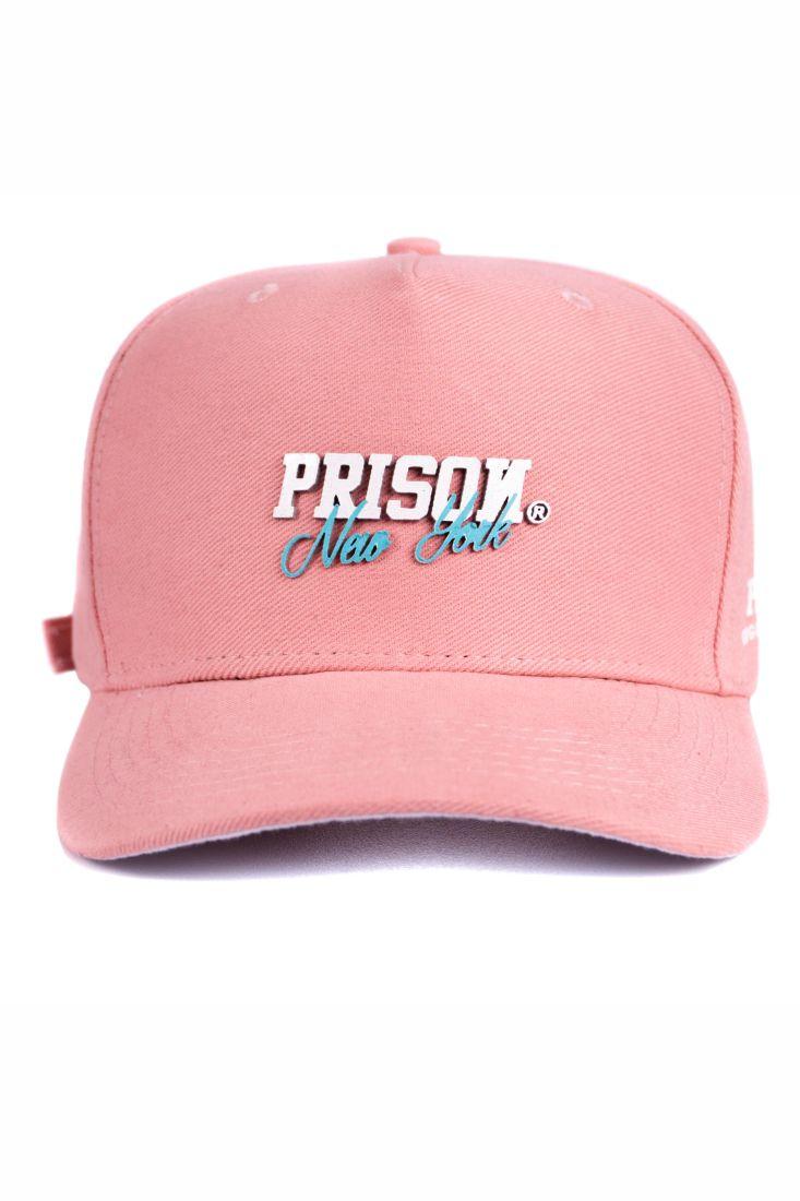 Boné Strapback Prison New York Rosê