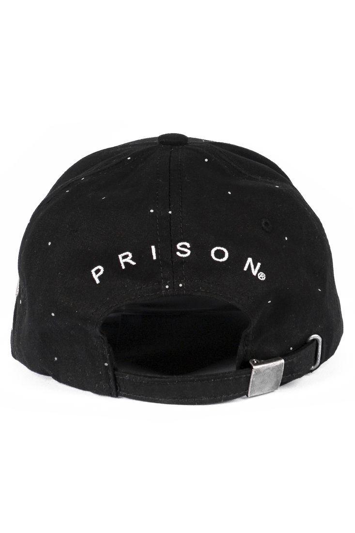 Boné Strapback Prison USA Ball Preto