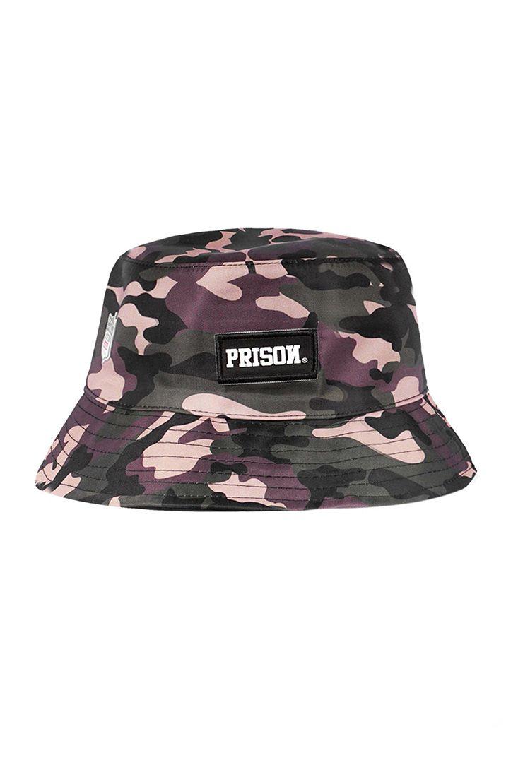 Bucket Hat Prison Camuflado USA