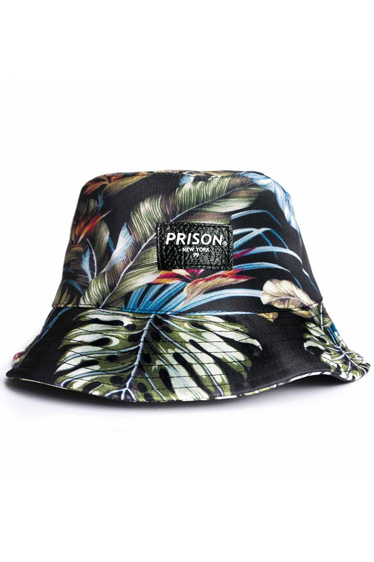 Bucket Hat Prison Floral Lakeness
