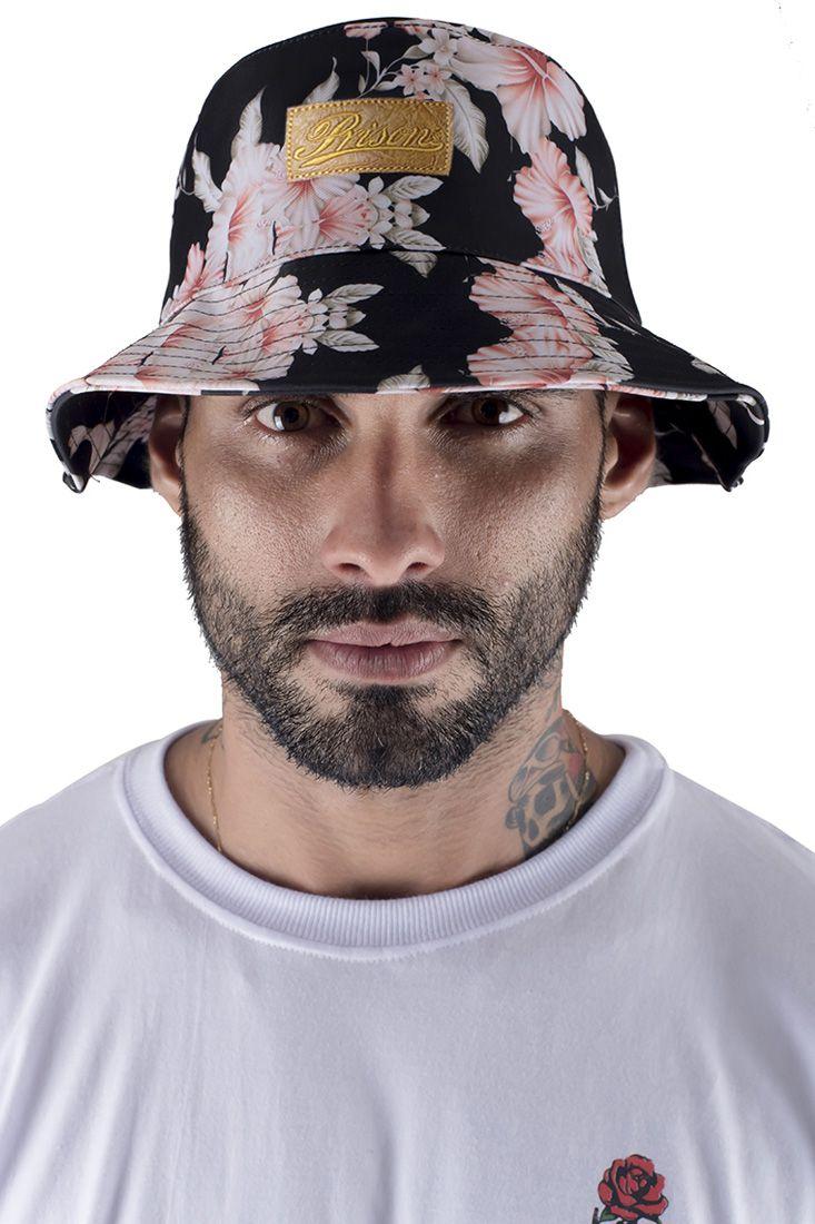 Bucket Hat Prison Floral Swag