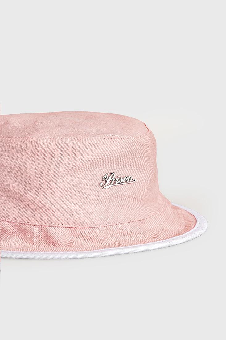 Bucket Hat Prison Logo Pink