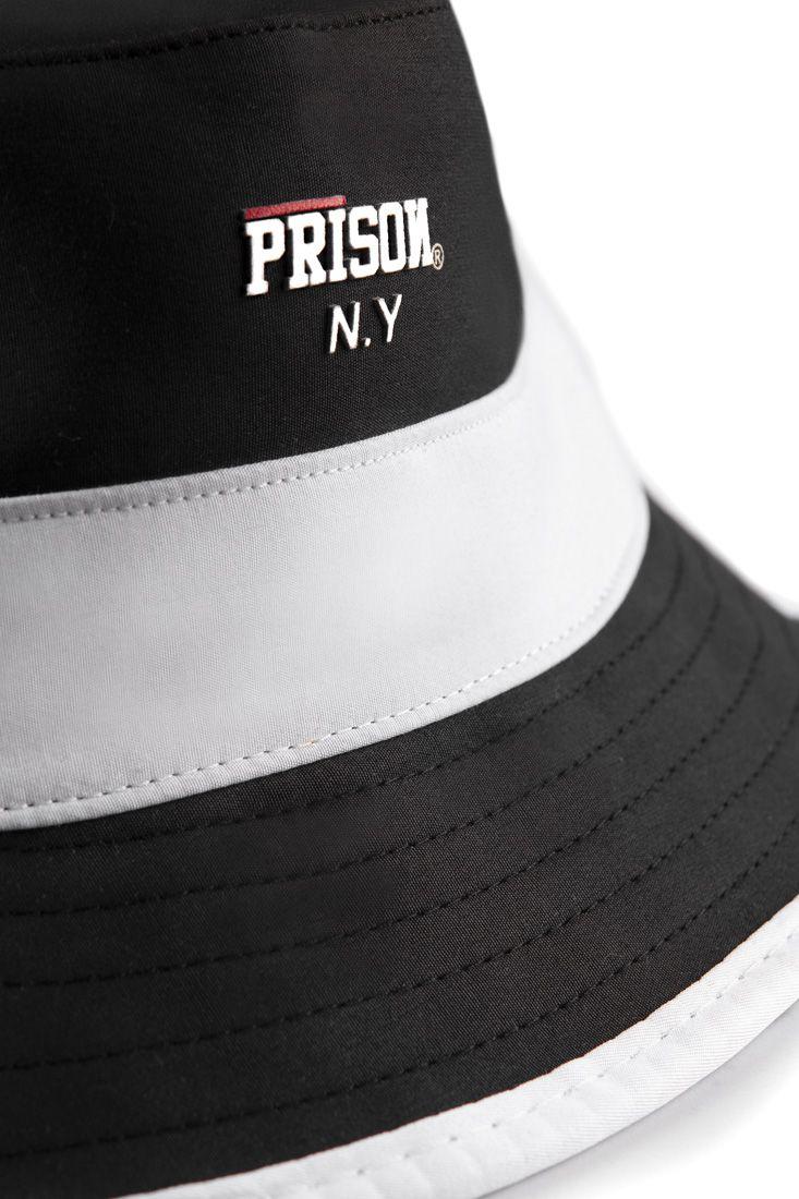 Bucket Hat Prison White Stripe Premium
