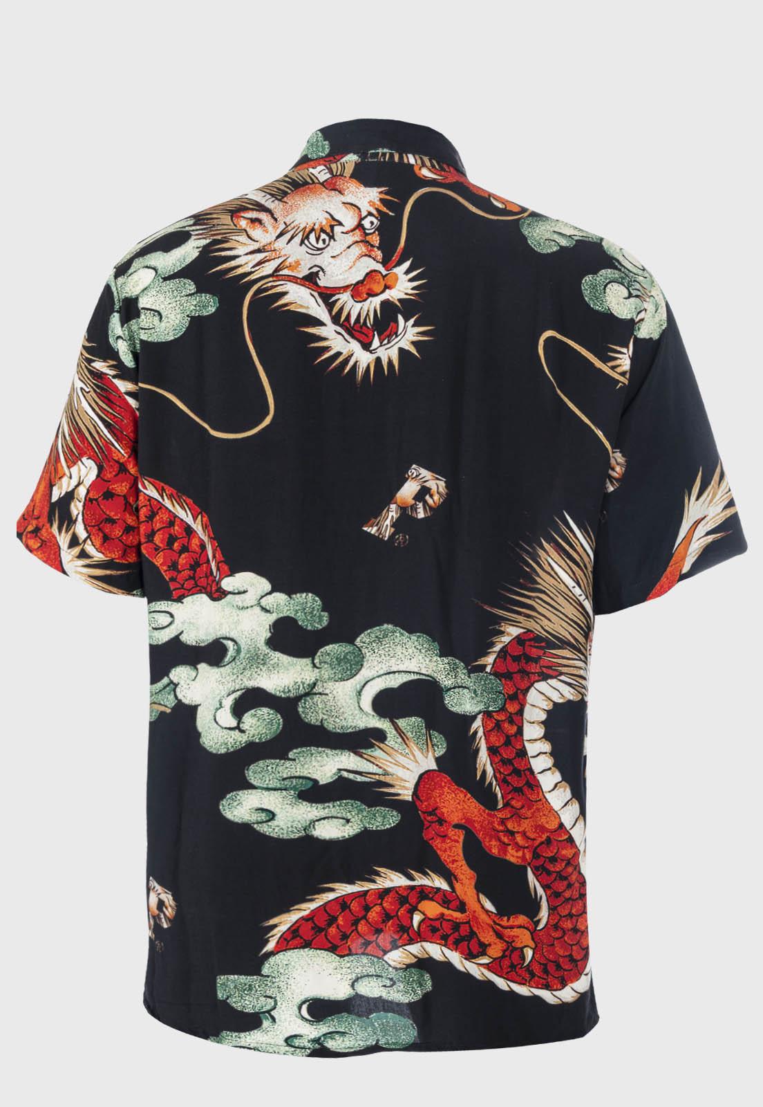 Camisa social Prison Dragon