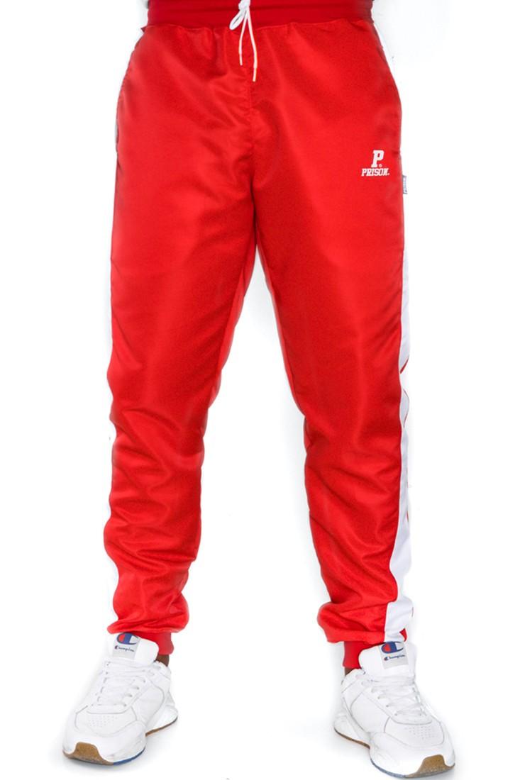 Calça Jogger Prison Streetwear Vermelha