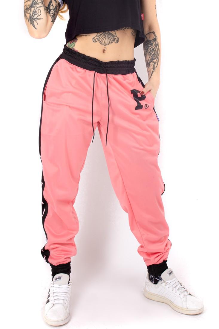 Calça Jogger Prison Black Pink Feminina