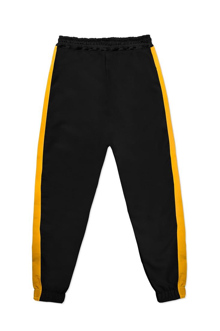 Calça Jogger Prison Streetwear Black Hype