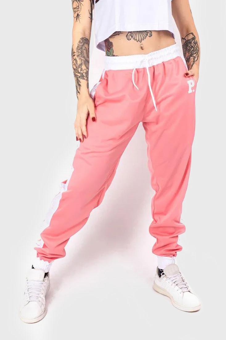 Calça jogger prison super pink feminina