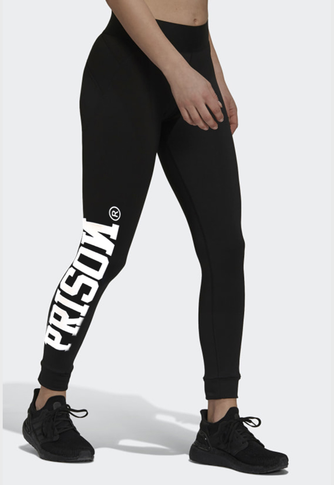 Calça Legging Prison Streetwear Logo
