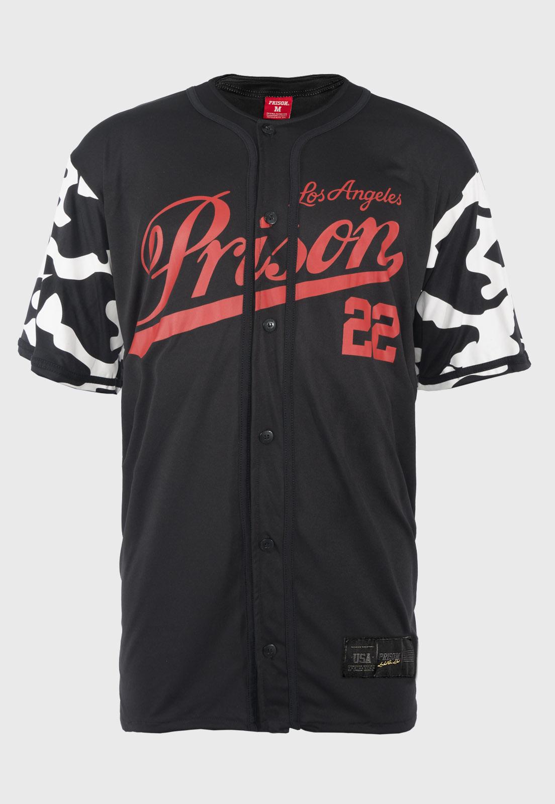 Camisa de Baseball Prison Los Angeles 22