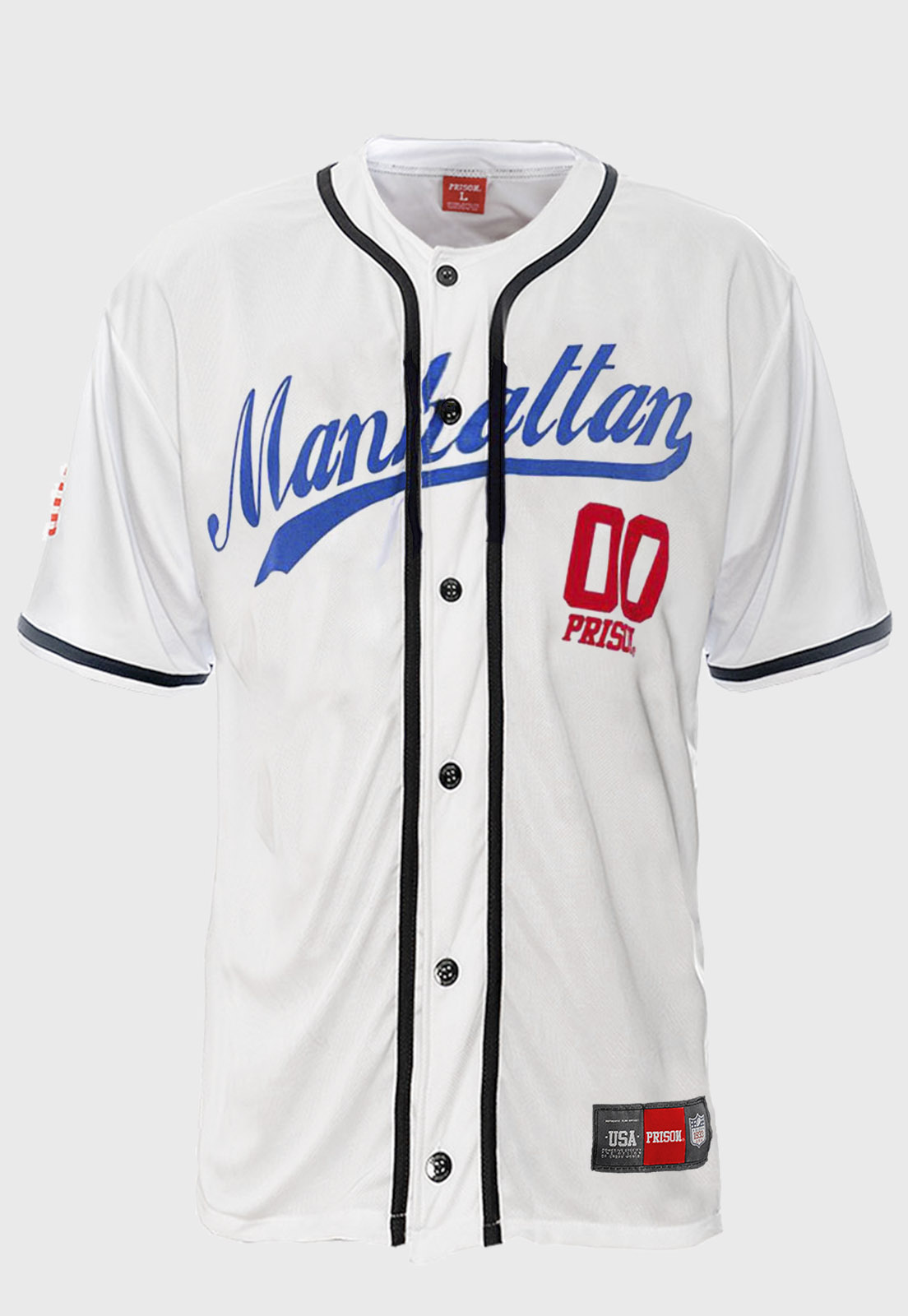 Camisa de Baseball Prison Manhattan 00