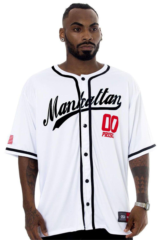 Camisa de Baseball Prison Manhattan 00 lisa