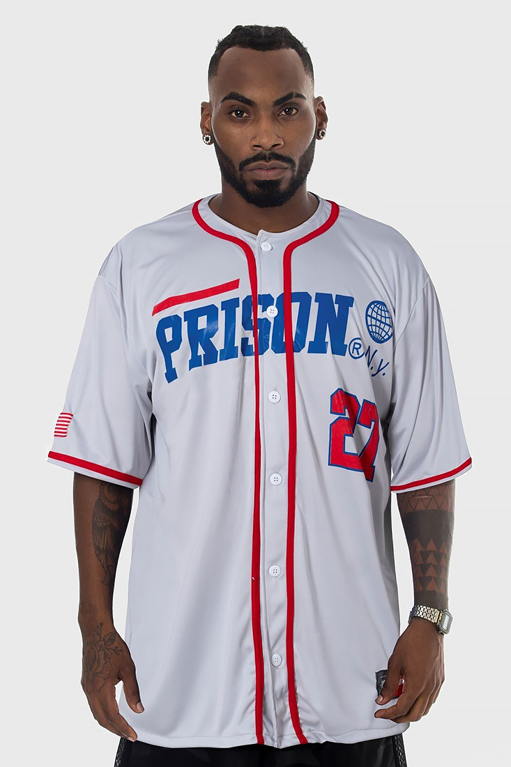 Camisa de Baseball Prison N.Y 27