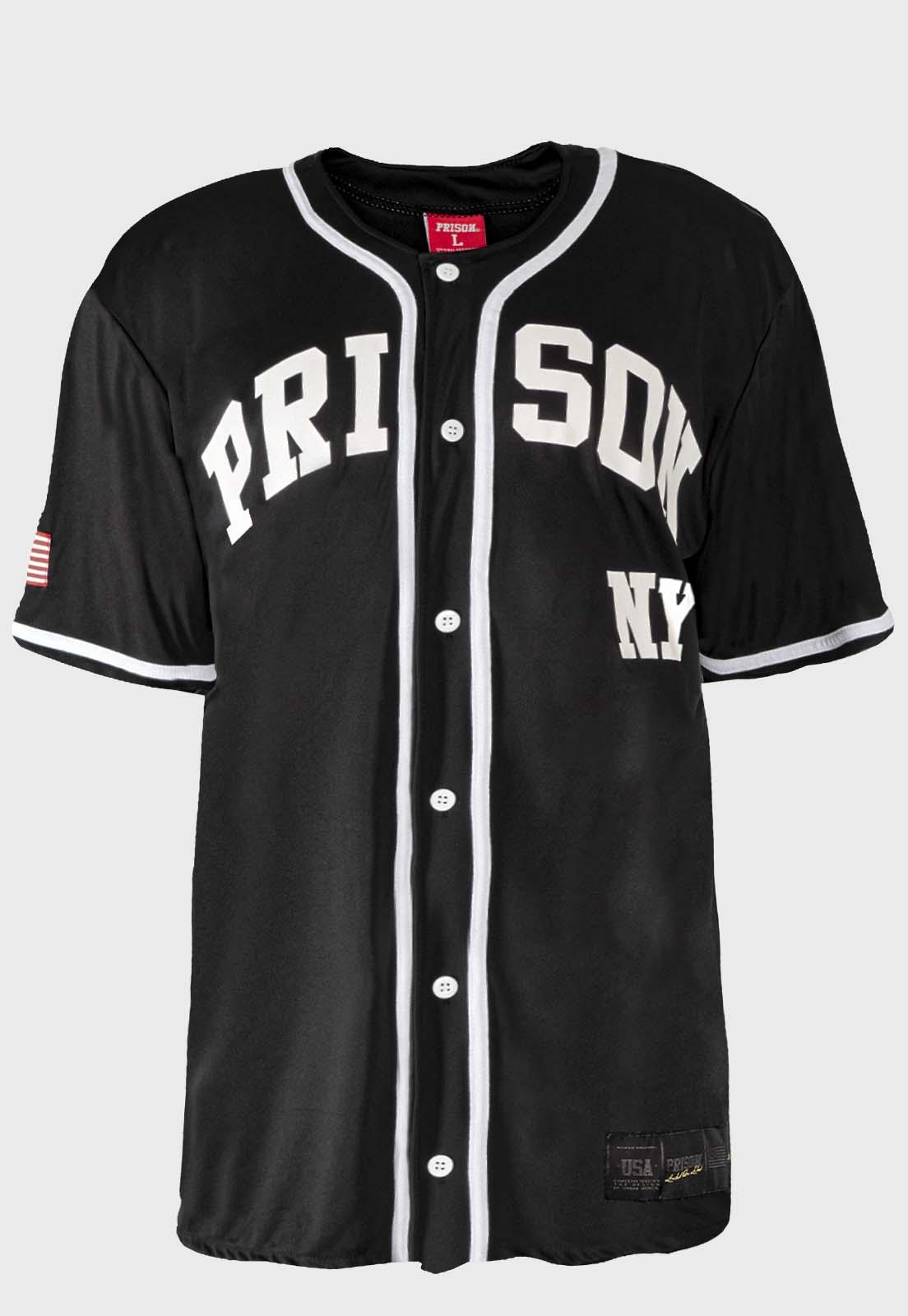 Camisa de Baseball Prison New League yorks