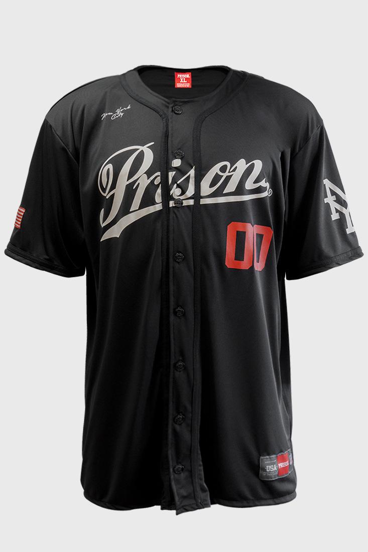 Camisa de Baseball Prison New York Citty 00
