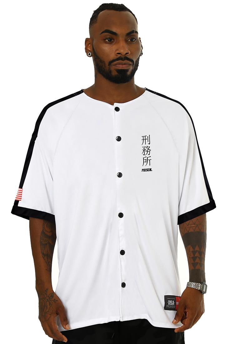 Camisa de Baseball Prison New York Dominate