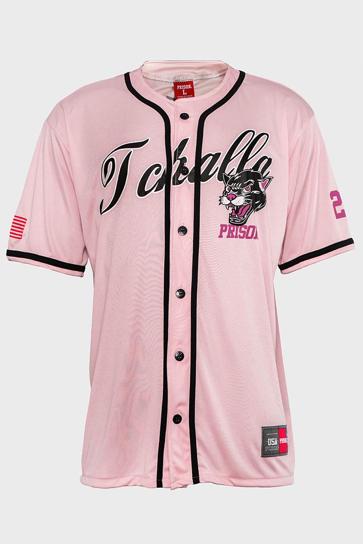 Camisa de Baseball Prison  Pantera Rosa