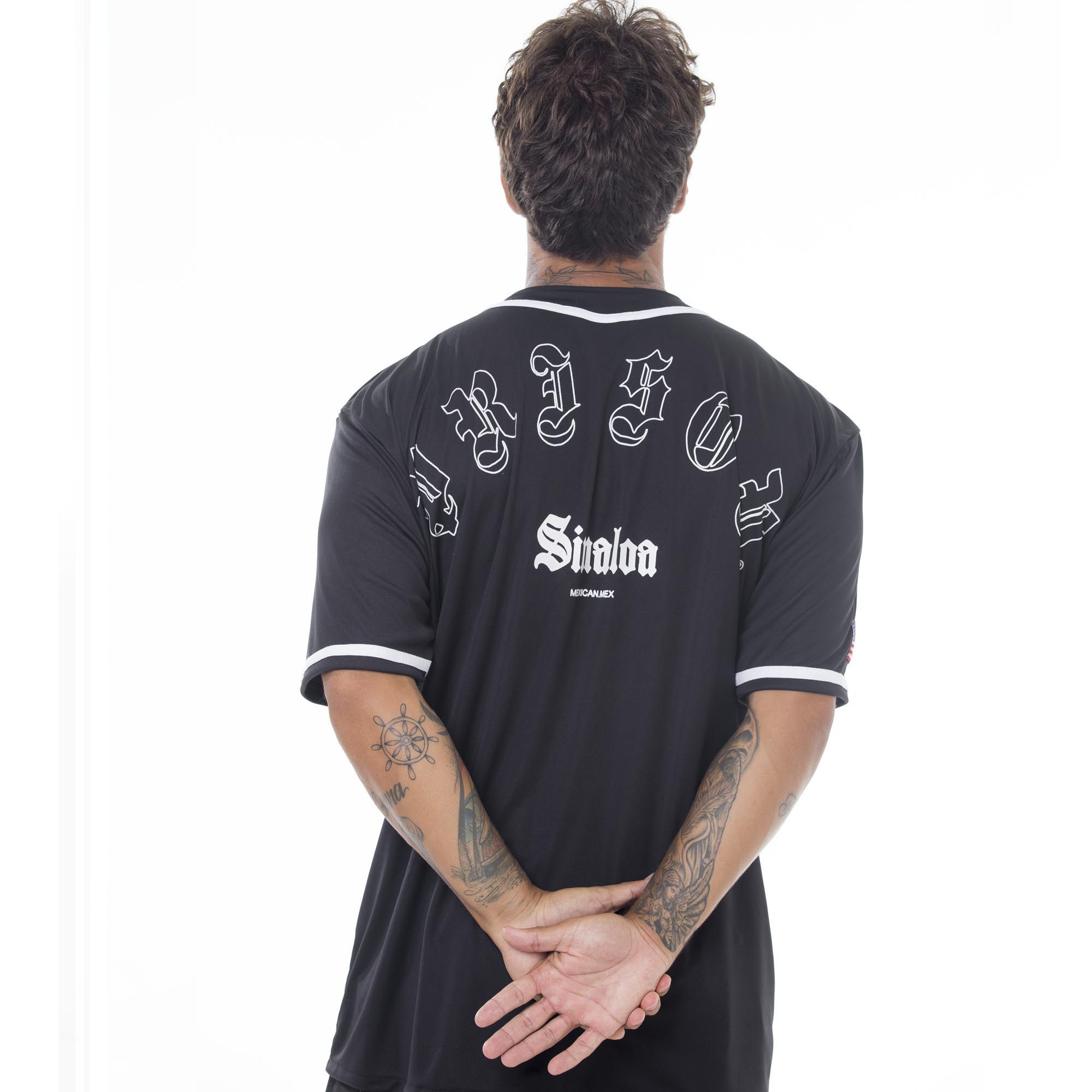 Camisa de Baseball Prison Sinaloa