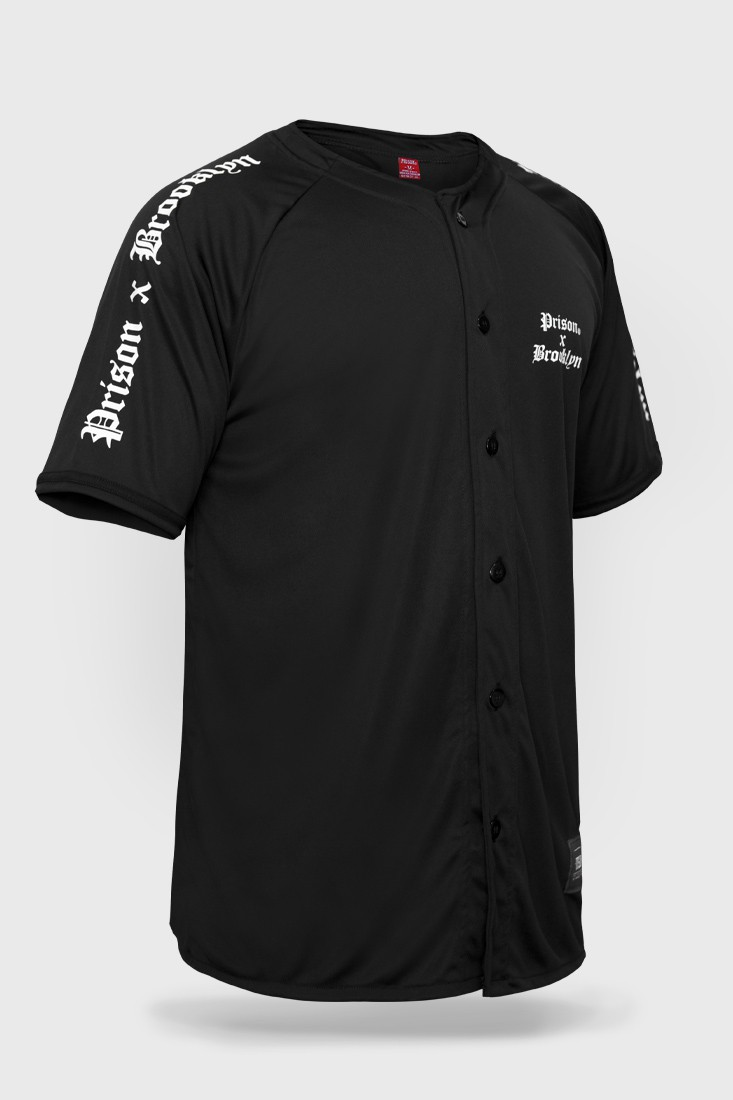 Camisa de Baseball Prison x Broolyn
