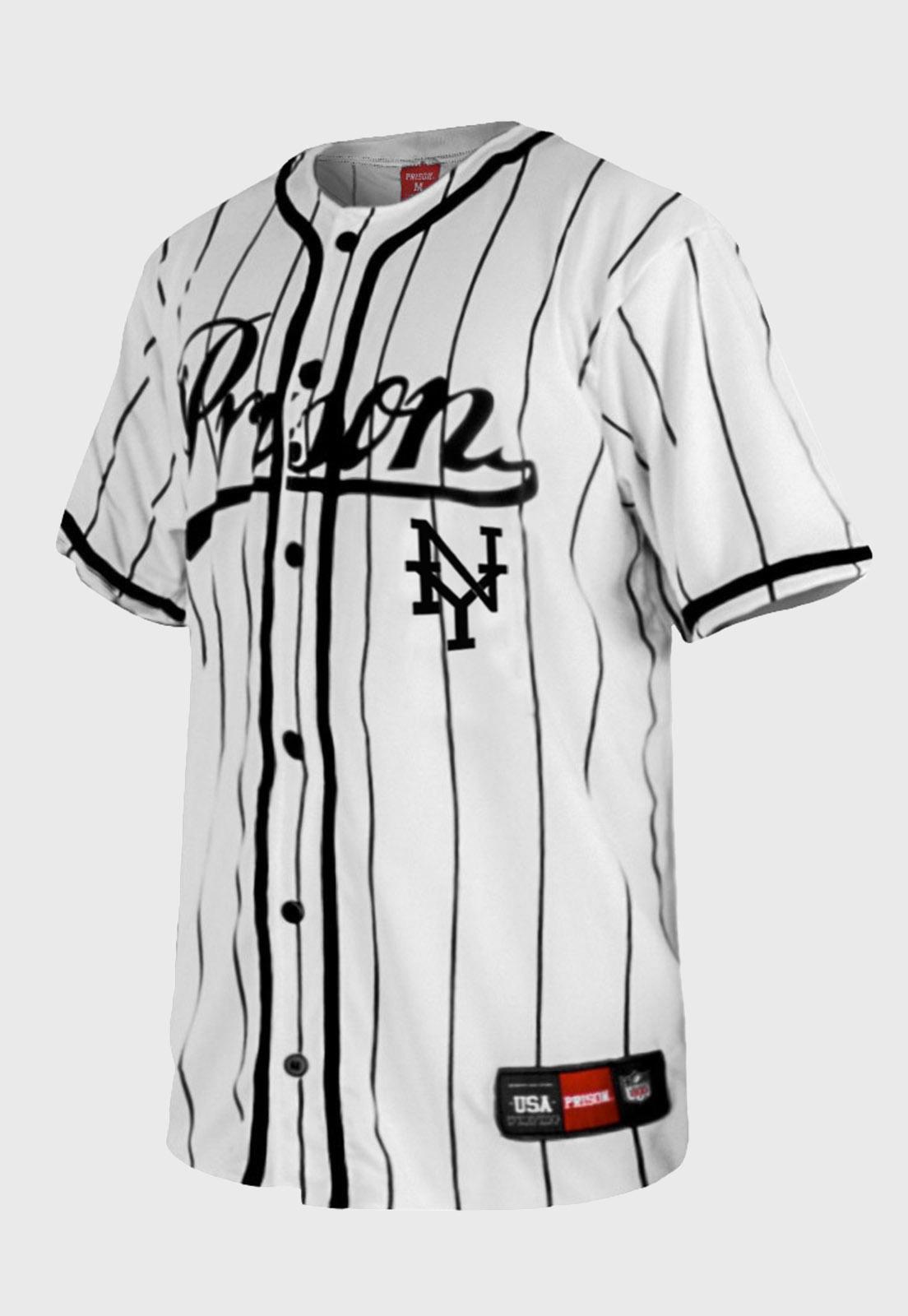Camisa de Baseball Prison Streetwear  Listrada NY
