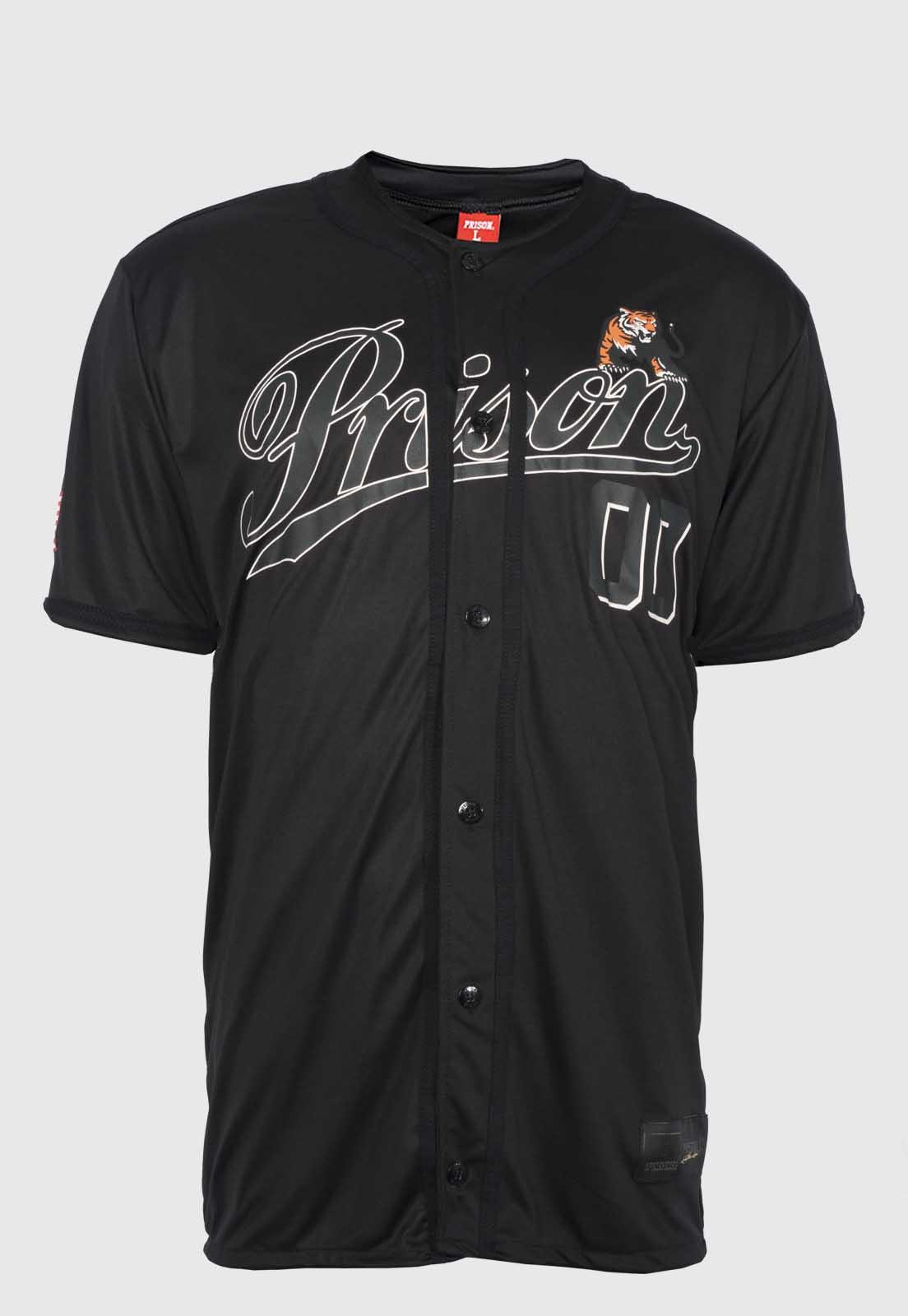 Camisa de Baseball Prison Tiger 00