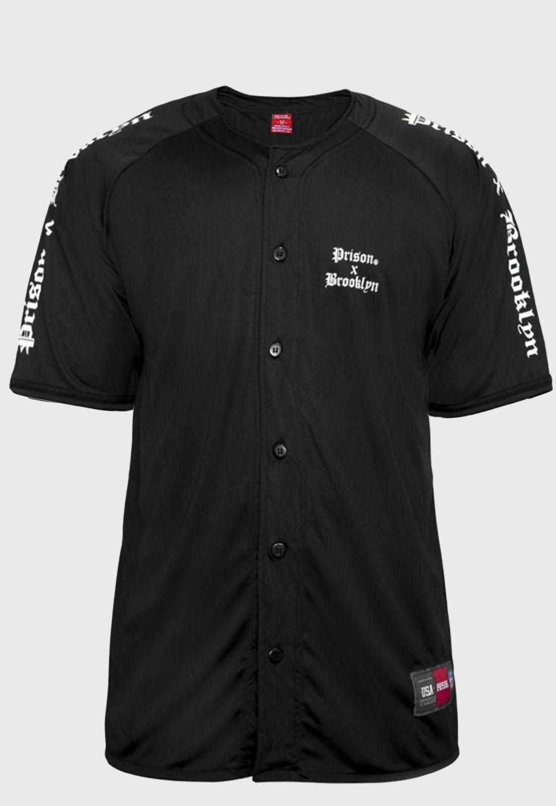 Camisa de Baseball Prison x Brooklyn
