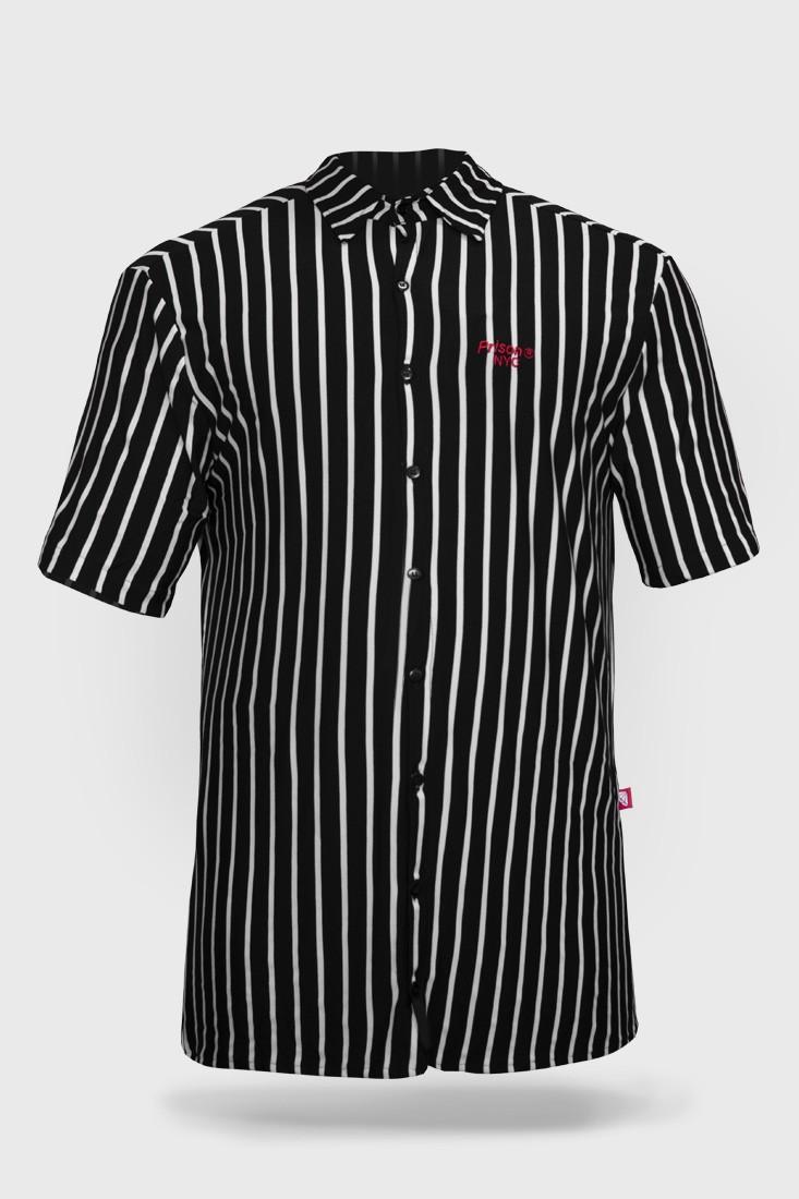 Camisa Social Prison Classic Stripe