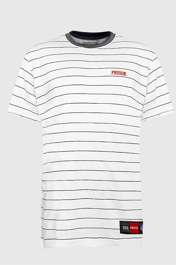 camisa streetwear listrada horizontal prison