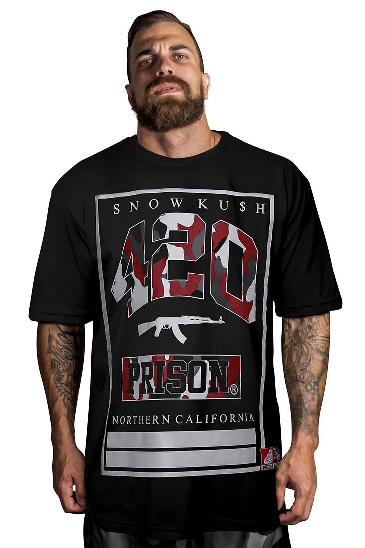 Camiseta AK 420 Camuflada Prison